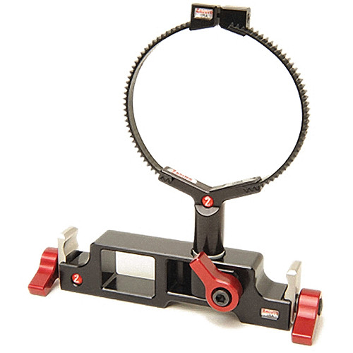 Zacuto Z-ALLS Studio 15mm Locking Lens Support - for 15mm Studio Rod System