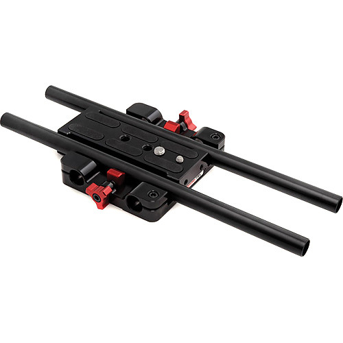 "Zacuto Studio Baseplate with 12"" (30.48 cm) Rods for C100/C300/C500"