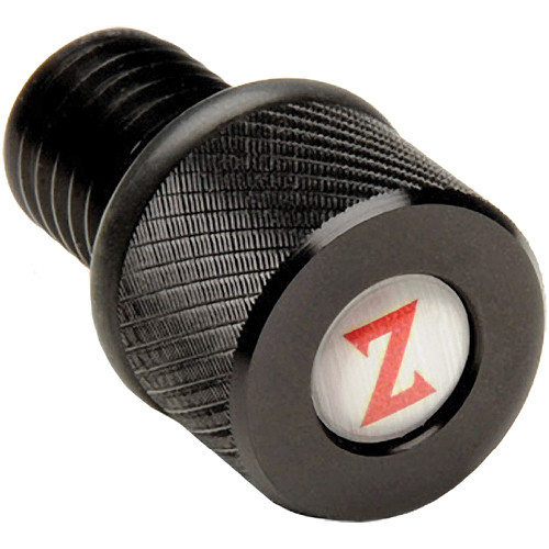 "Zacuto 1/2"" (12.70mm) Rod Cap (Black)"
