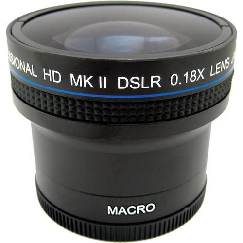 Zeikos 52/58mm High Quality 0.18x Super Fisheye Lens