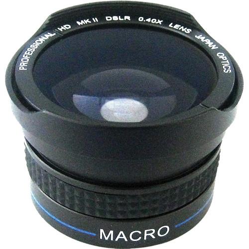 Zeikos 37mm High Quality 0.40x Fisheye Lens