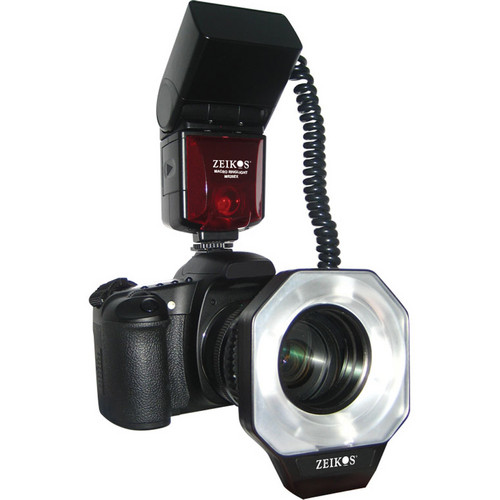 Zeikos Digital TTL Macro Ringlight Flash for Nikon