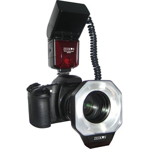Zeikos Digital TTL Macro Ringlight Flash for Nikon