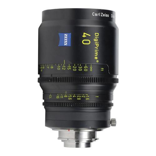 Zeiss DigiPrime 40mm T1.6 Cine Lens
