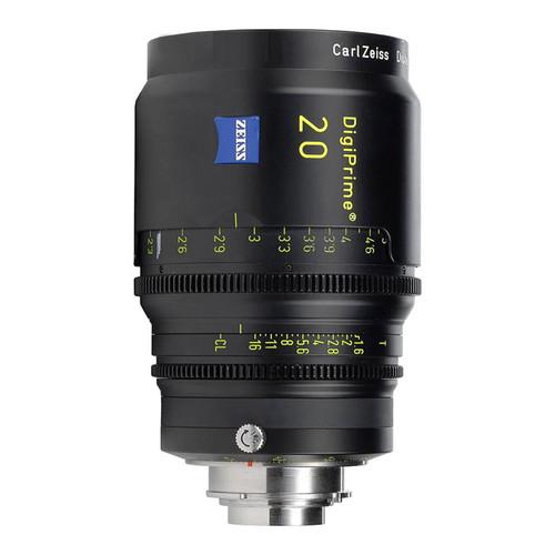 Zeiss DigiPrime 20mm T1.6 Cine Lens