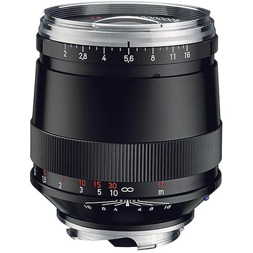 Zeiss 85mm f/2 ZM Lens - Black