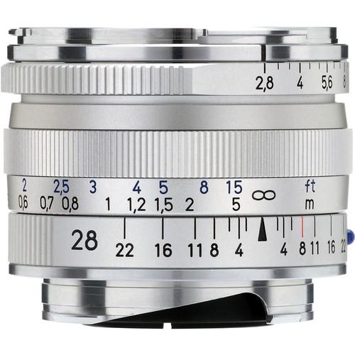 Zeiss 28mm f/2.8 ZM Lens - Silver