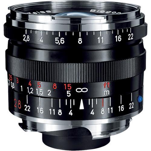 ZEISS Biogon T* 28mm f/2.8 ZM Lens (Black)