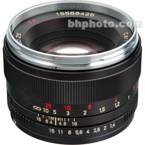 Zeiss 50mm f/1.4 ZS Manual Focus Lens