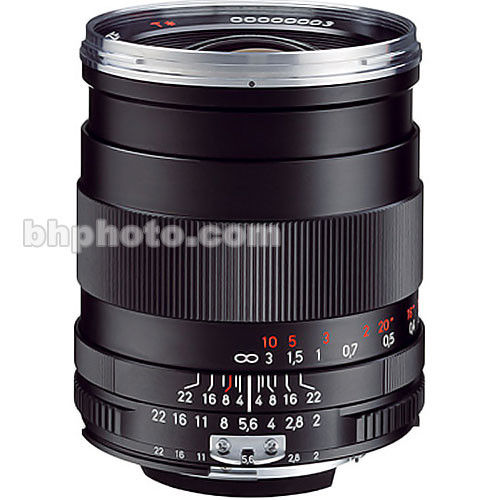 Zeiss 35mm f/2 ZF Distagon T* Manual Focus Lens for Nikon SLR