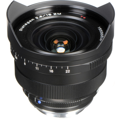 Zeiss 15mm f/2.8 ZM Lens - Black
