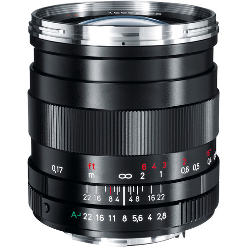 Zeiss 25mm f/2.8 ZK Distagon T* Lens for Pentax K-Mount Cameras
