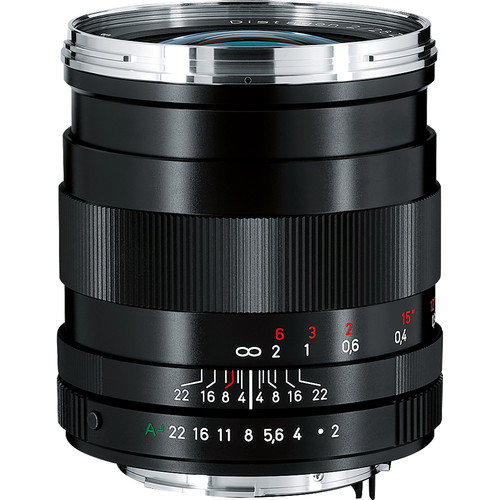 Zeiss Wide Angle 28mm f/2 Distagon T* ZK Manual Focus Lens for Pentax SLR (Black)