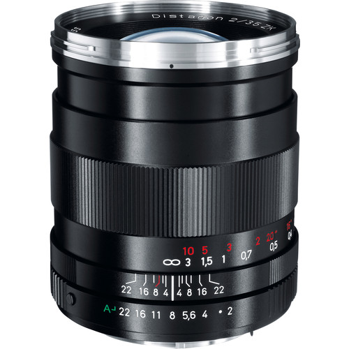 Zeiss 35mm f/2 ZK Distagon T* Manual Focus Lens for Pentax K-Mount Cameras