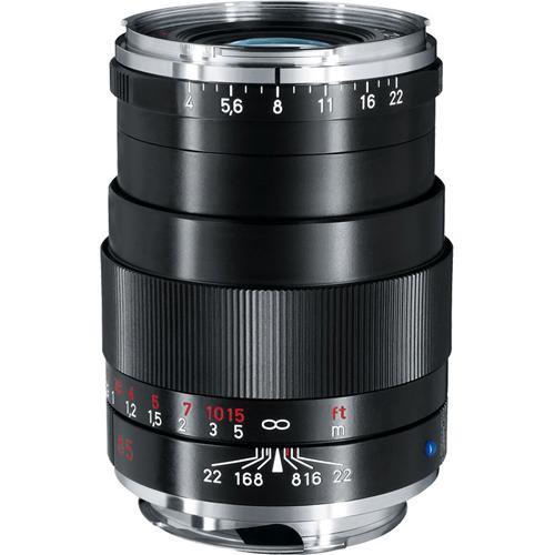 Zeiss Tele-Tessar T* 85mm f/4 ZM Lens (Black)