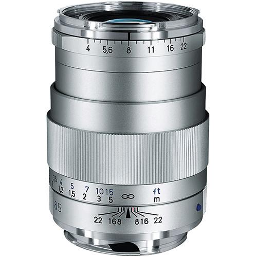Zeiss 85mm f/4 Tele-Tessar T* ZM Manual Focus Lens - Silver