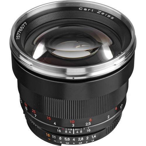Zeiss Planar T* 85mm f/1.4 ZF.2 Lens for Nikon F-Mount Cameras