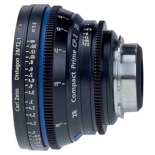 Zeiss Compact Prime Distagon 28mm/T2.1 Cinema Lens