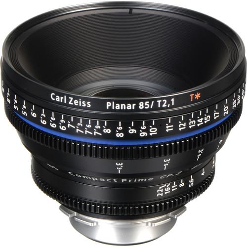 Zeiss Compact Prime CP.2 85mm/T2.1 Cine Lens (PL Mount)
