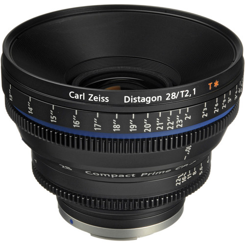 Zeiss Compact Prime CP.2 28mm/T2.1 Cine Lens (EF Mount)