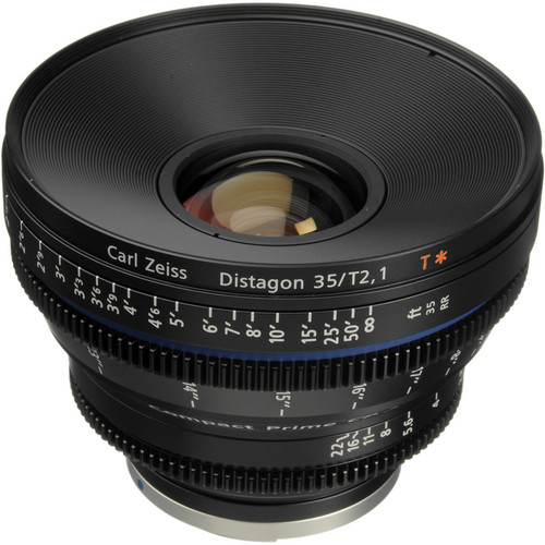 Zeiss Compact Prime CP.2 35mm/T2.1 Cine Lens (EF Mount)