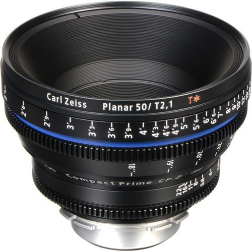 Zeiss Compact Prime CP.2 50mm/T2.1 Cine Lens (PL Mount)