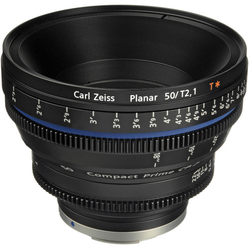 ZEISS - Compact Prime CP.2 50mm/T2.1 Cine Lens (EF Mount)