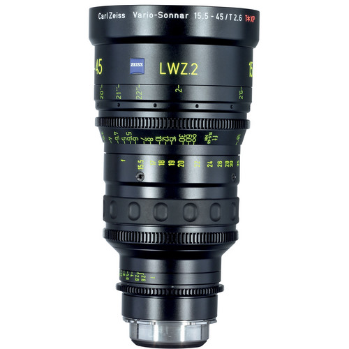 Zeiss LWZ.2 Lightweight 15.5-45mm T2.6 Zoom (EF Mount)