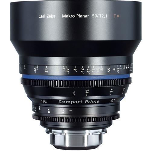 ZEISS Compact Prime CP.2 50mm/T2.1 Makro Cine Lens (PL Mount)