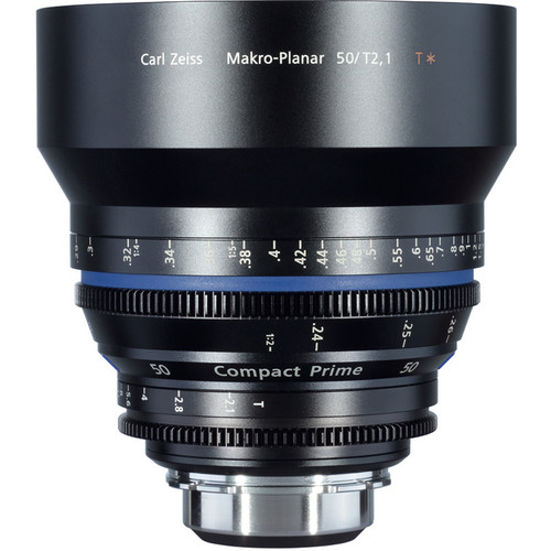 ZEISS Compact Prime CP.2 50mm/T2.1 Makro Cine Lens (F Mount)