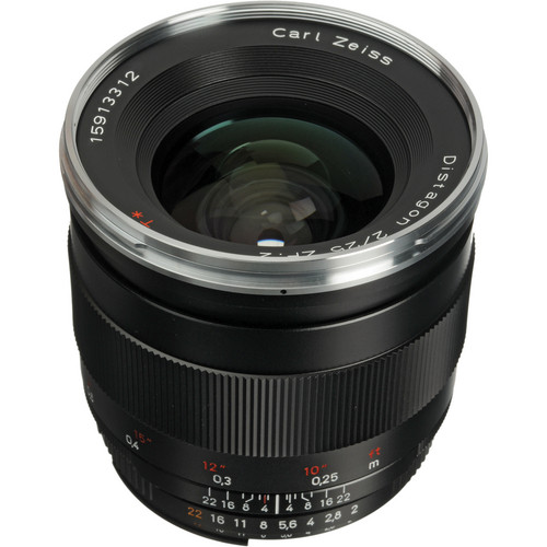 Zeiss Distagon T* 25mm f/2.0 ZF.2 Lens for Nikon F Mount