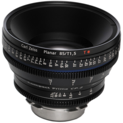 Zeiss Compact Prime CP.2 85mm/T1.5 Super Speed F Mount with Imperial Markings