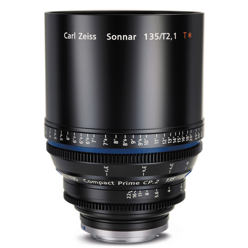 Zeiss Compact Prime CP.2 135mm/T2.1 MFT Mount with Imperial Markings
