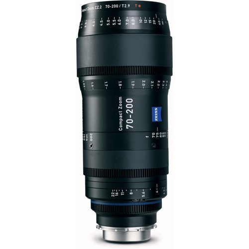 ZEISS 70-200mm T2.9 Compact Zoom CZ.2 Lens (F Mount)