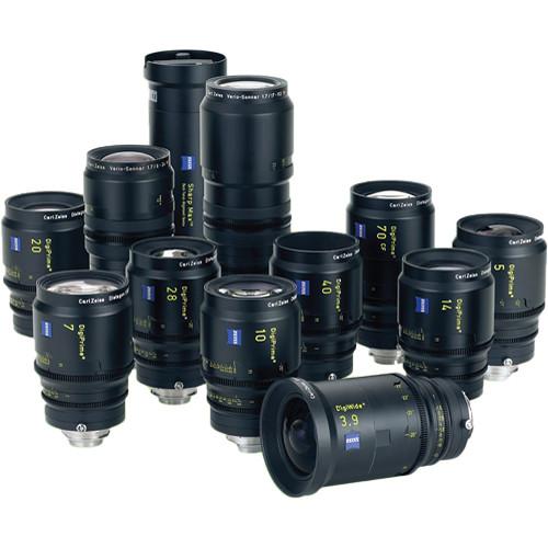 Zeiss DigiPrime Complete Cine Lens Set