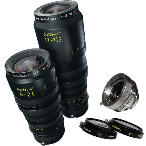 Zeiss DigiZoom 6-24mm & 17-112mm Lens Kit