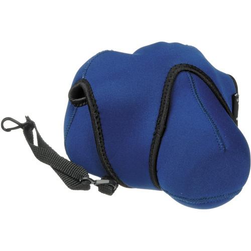 Zing Designs Large DSLR Reversible Camera Cover (Blue)