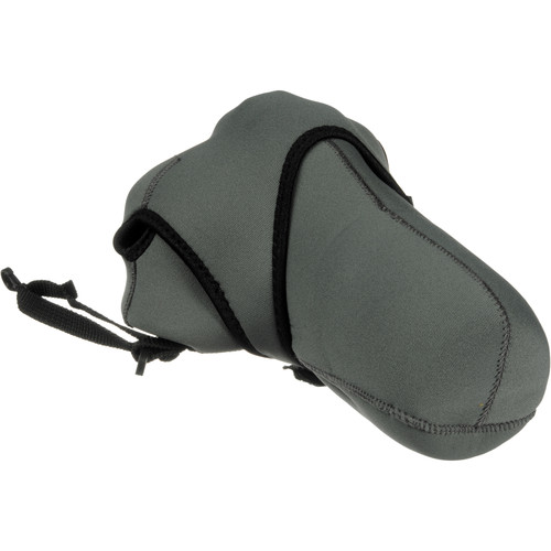 Zing Designs Large Zoom SLR Reversible Camera Cover (Gray)
