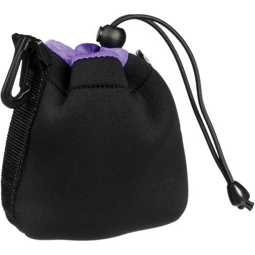 Zing Designs SPB1 Small Drawstring Pouch (Black/Purple)