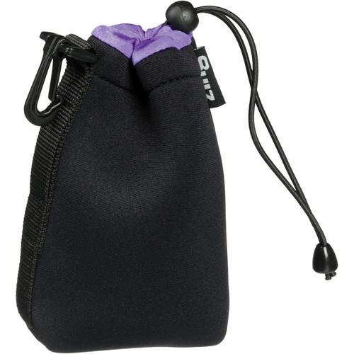Zing Designs MPBK1 Medium Drawstring Pouch (Black/Purple)