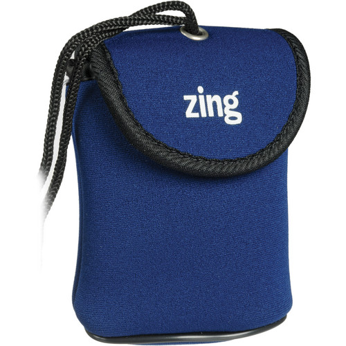 Zing Designs Camera Pouch, Small (Blue)
