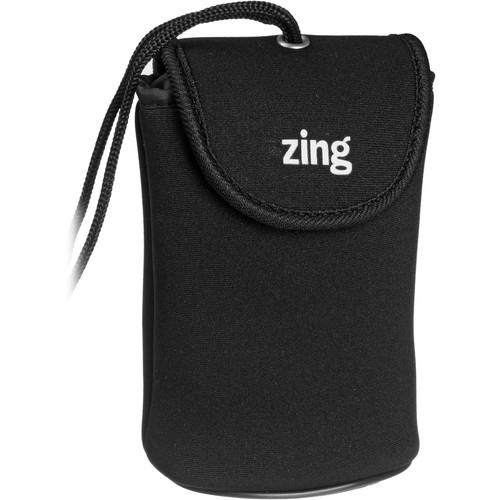 Zing Designs Camera Pouch, Medium (Black)