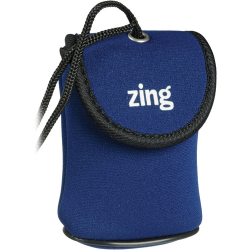 Zing Designs Camera Pouch, Medium (Blue)