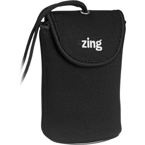 Zing Designs Camera Pouch, Large (Black)