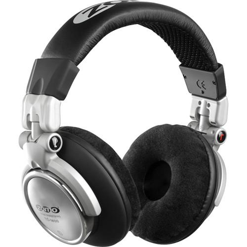Zomo HD-1200 Professional DJ Headphones (Black/Silver)