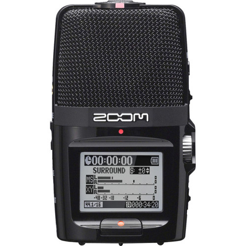 Zoom H2n On-Camera DSLR Audio Kit