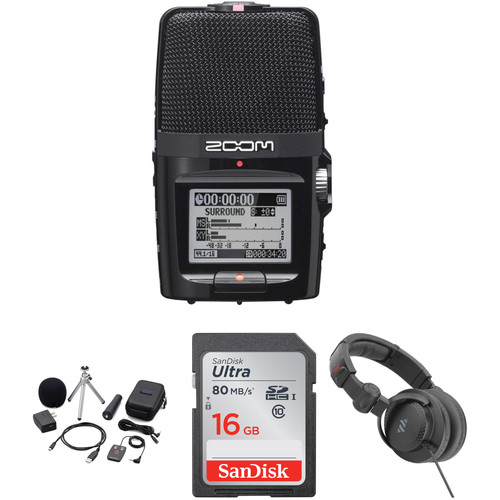 Zoom H2n Portable Recorder Value Pack
