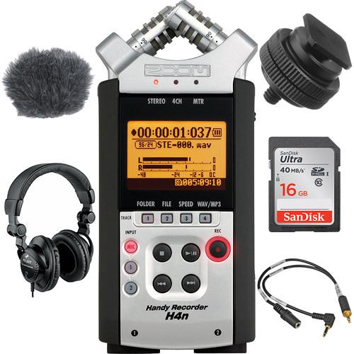 Zoom H4N On-Camera DSLR Audio Kit