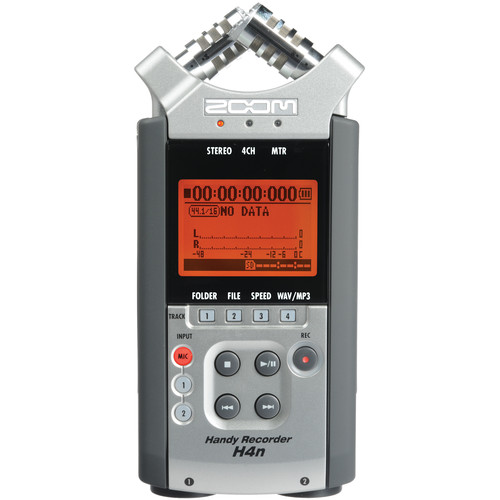 Zoom H4n 4-Channel Handy Recorder (2009 Version)