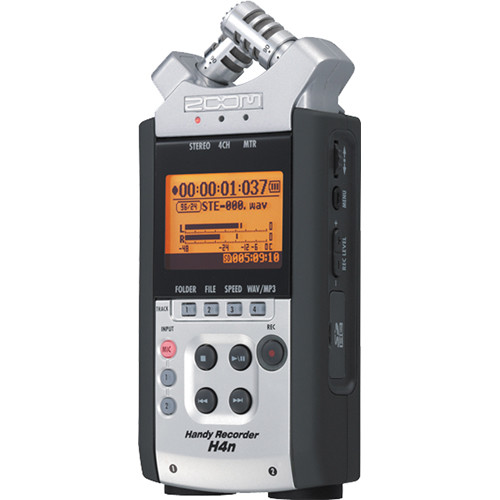 Zoom H4n Handy Recorder Kit with SDHC Card, Case, and Remote